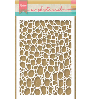 PS8001 - Marianne Design - Mask Stencil - Tiny's Cobble Stone - 149x210mm