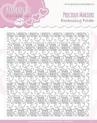 PMEMB10003 - Embossing Folder - Precious Marieke - Romance