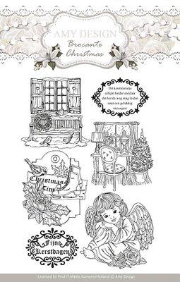 ADCS10002 - Clearstamp - Amy Design - Brocante Christmas