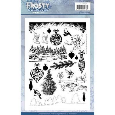 JACS10017 - Clearstamp - Jeanine's Art - Frosty Ornaments