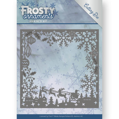 JAD10041 - Dies - Jeanine's Art - Frosty Ornaments - Frosty Frame