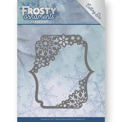 JAD10042 - Dies - Jeanine's Art - Frosty Ornaments - Rectangle Ornament