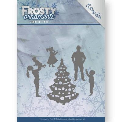 JAD10047 - Dies - Jeanine's Art - Frosty Ornaments - Happy Family