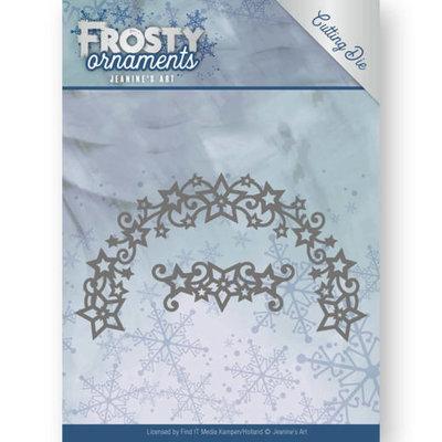 JAD10048 - Dies - Jeanine's Art - Frosty Ornaments - Frosty Wreath