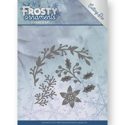 JAD10049 - Dies - Jeanine's Art - Frosty Ornaments - Christmas Branches