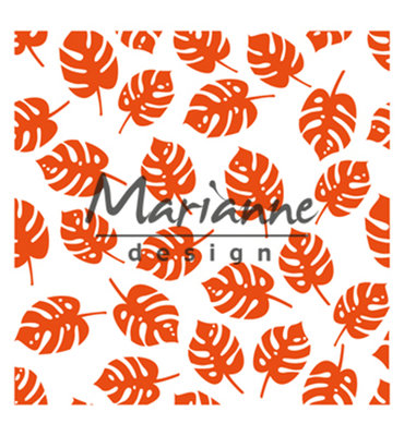 DF3449 - Marianne Design - Design Folder -  Tropical leaves -141x141mm