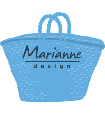 LR0543 - Marianne Design - Creatables - Beach bag - 60x51mm