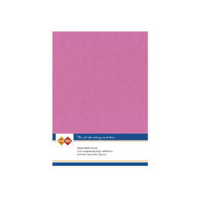 49 Card Deco Linnen A5 10 vel Hardroze 240grm