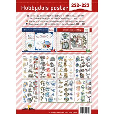 Knipvelposter Hobbydols 222 en 223