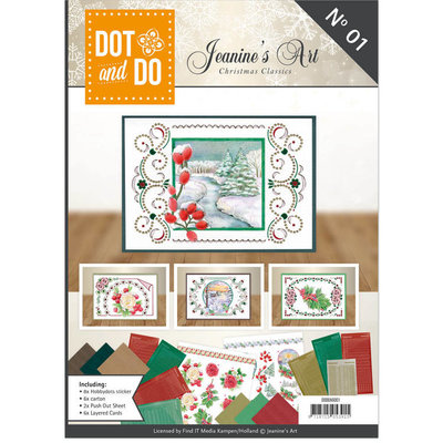 Dot and Do Book 01 - Jeanine's Art - Christmas Classics