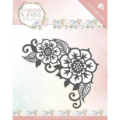 PM10136 - Dies - Precious Marieke - Flowers in Pastels - Floral Corner