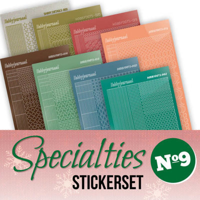 Specialties Stickerset 9