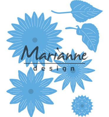 LR0545 - Marianne Design - Creatables - Sunflower - 45x45mm