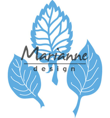 LR0547 - Marianne Design - Creatables - Anja's leaf set