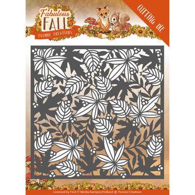 YCD10147 - Dies - Yvonne Creations - Fabulous Fall - Autumn Frame