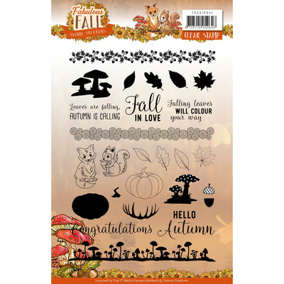 YCCS10041 - Clear Stamps - Yvonne Creations - Fabulous Fall