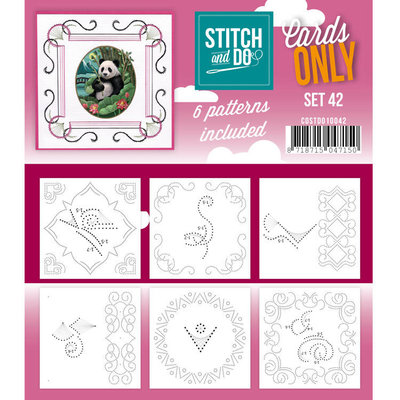 Stitch & Do - Cards Only - Set 42