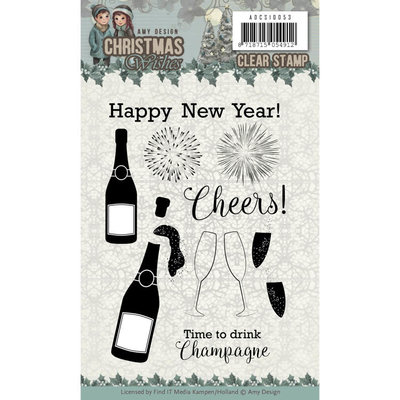 ADCS10053 - Clear Stamps - Amy Design - Christmas Wishes