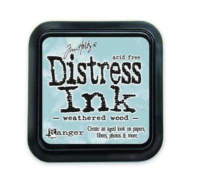 Ranger Distress Inks pad - weathered wood stamp pad TIM20257 Tim Holtz