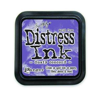 Ranger Distress Inks pad - dusty concord stamp pad TIM21445 Tim Holtz