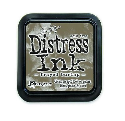 Ranger Distress Inks pad - frayed burlap stamp pad TIM21469 Tim Holtz