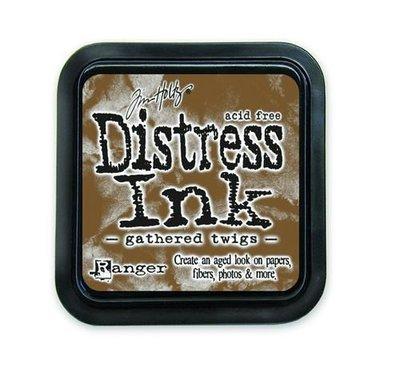Ranger Distress Inks pad - gathered twigs TIM32823 Tim Holtz