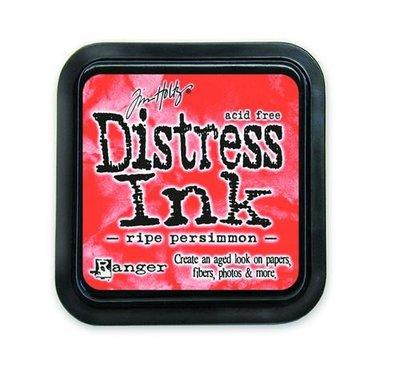 Ranger Distress Inks pad - ripe persimmon TIM32830 Tim Holtz