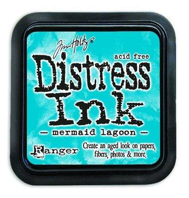 Ranger Distress Inks pad - mermaid lagoon TIM43256 Tim Holtz