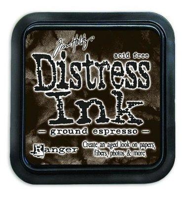 Ranger Distress Inks pad - ground expresso TIM43270 Tim Holtz