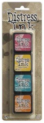 Ranger Distress Mini Ink Kit 1 TDPK40316 Tim Holtz