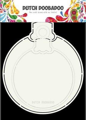 470.713.680 –  Dutch Doobadoo – Dutch Card Art – Kerstbal 2pc A5