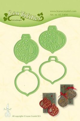 LeCrea – Lea'bilitie Christmas ornaments snij, embossing mal 45.5404