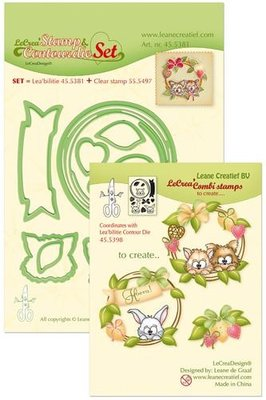 LeCrea – Lea'bilitie Set met Cont. mal, clearst. Wreath,pets 45.5381