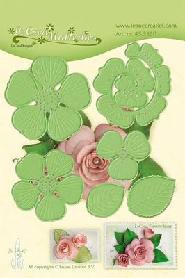 LeCrea – Lea'bilitie Multi die flower 016 Rose 3D mal 45.5350