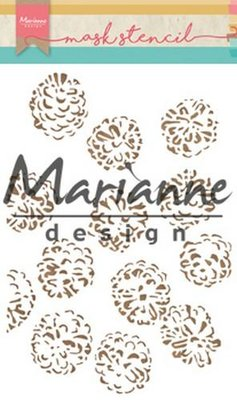 PS8010 – Marianne Design – Stencils – Tiny's dennenappels 15x21cm