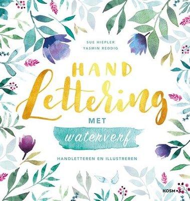 Kosmos Boek - Handlettering met waterverf Hiepler, Susanne/Reddig