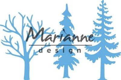 LR0556 Marianne Design – Creatables – Bos met bomen 8 x 18 cm
