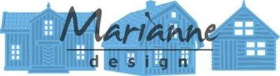 LR0555 Marianne Design – Creatables – Scandinavische huizen 8 x 18 cm