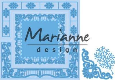 LR0553 Marianne Design – Creatables – Anja's Vierkant 16 x 18,5 cm