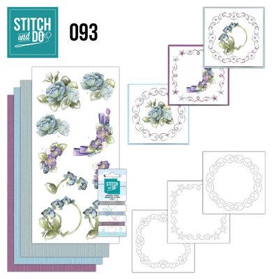 Stitch and Do 93 - Winterflowers