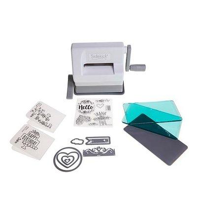 Sizzix Sidekick Starter Kit - White & Gray 661770