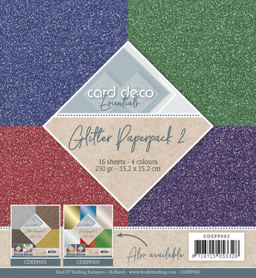 Glitter Paperpack 2