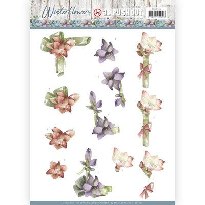 SB10301 – 3D Pushout - Precious Marieke - Winter Flowers – Amaryllis