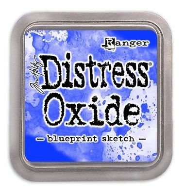 Ranger Distress Oxide - blueprint sketch TDO55822 Tim Holtz