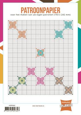 Hobbydots - Sparkles - Patroonpapier - 193x242mm - 24 vel