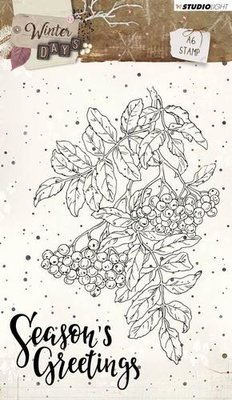 Studio Light Clearstempel A6 Winter Days nr 311 STAMPWD311