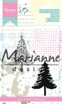 Marianne Design Cling Stamps Tiny's kerstboom MM162590 x 110 mm