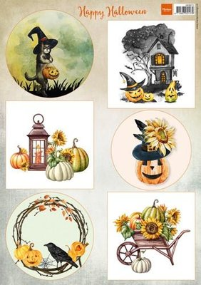 Marianne Design Decoupage Happy Halloween VK9571A4
