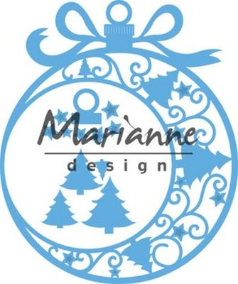 Marianne Design Creatable Kerst ornament groot LR0560 110 x 131 mm
