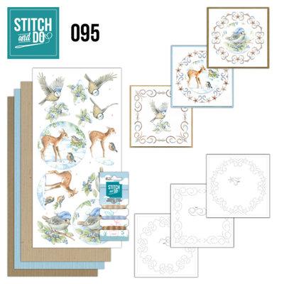Stitch and Do 95 - Winter Woodland